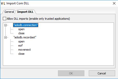 Import DLL